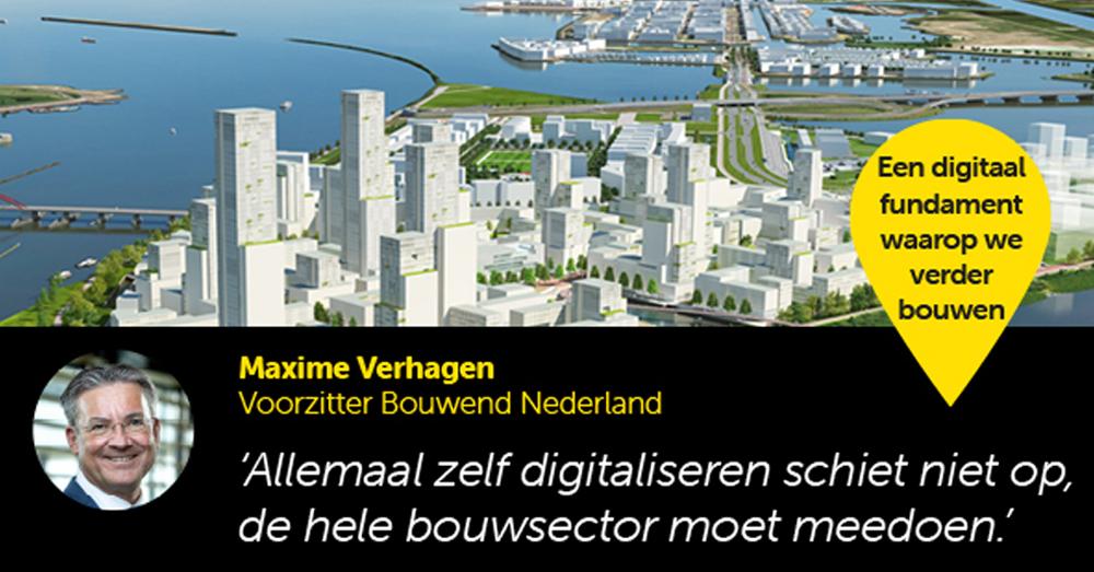 """Digitalisering in de bouw: """"Met de huidige bouwopgave is samenwerking simpelweg noodzaak"""""""